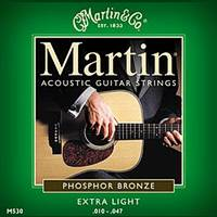 Martin Phosphor Bronze Acoustic Strings