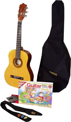 1/2 Size Nylon Strung Guitar Package From Music Shop Direct