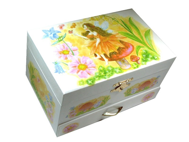 GIRLS JEWELLERY BOXES CHILDRENS MUSIC BOXES Fairy Musical