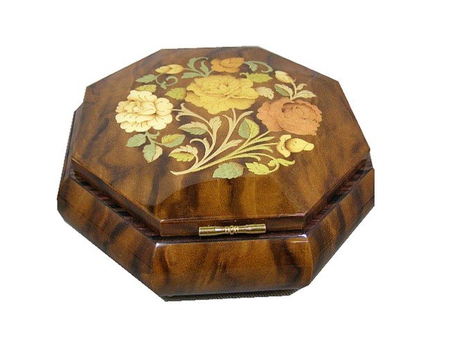 Musical Jewellery Boxes and Music Boxes From Shop 4 Music Boxes, UK