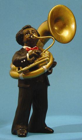 Jazz Band Sousaphone Player 3169