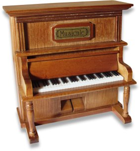 Miniature Musical Piano 21005