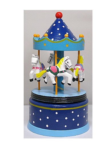 Musical  Wooden Carousel 16003
