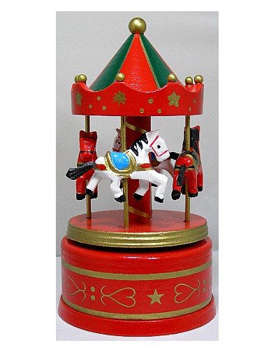 Musical Wooden Carousel 16009