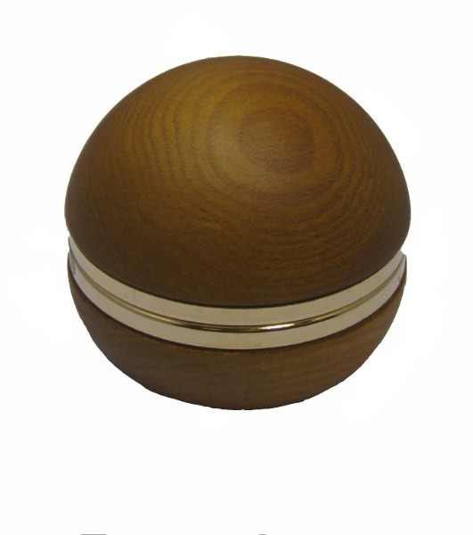 Musical Wooden Sphere with Clock MG22