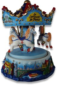 Musical Carousel From The Music Box Shop, Music Box Carousel, Musical Carousels.