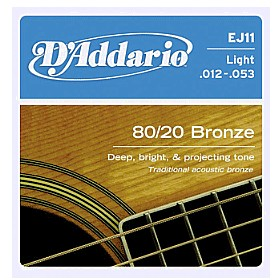 D'Addario Acoustic Guitar strings, From Music Shop Direct & The Music Box Shop