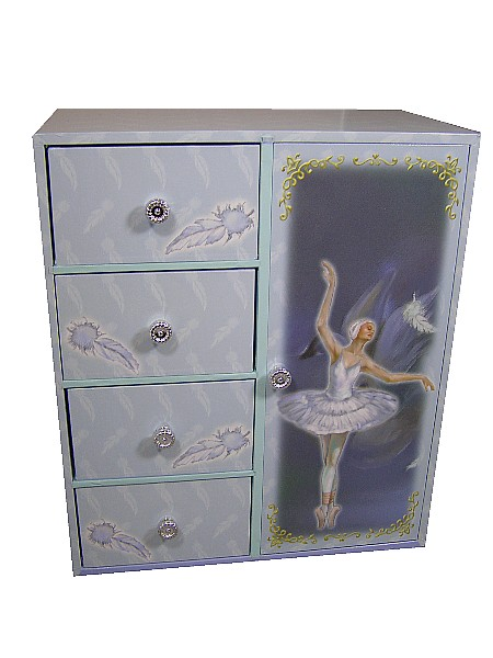 Jewellery Boxes and Ballerina Musical Jewellery box From The Music Box Shop