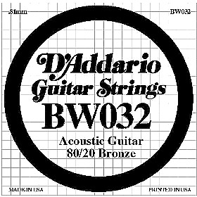 Buy Single Acoustic Guitar Strings