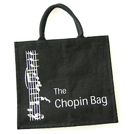 Chopin Bag A MUsical Themed Shopping Bag