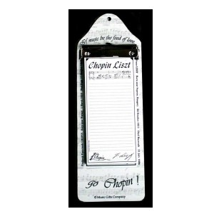 Chopin Liszt Shopping List Pad CLB01