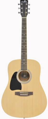 Chord Acoustic Guitar Left Handed