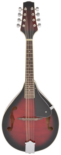 Chord Arch Top Mandolin - Red Burst