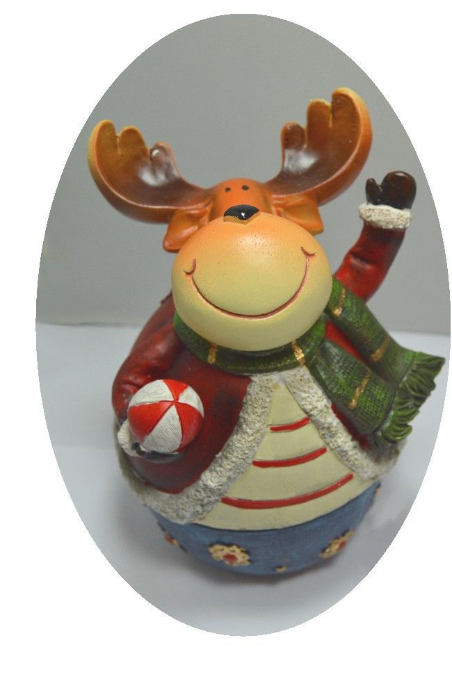 Musical christmas figure