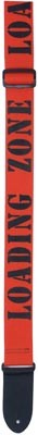 Eagle Mountain Orange Loading Zone Guitar Strap
