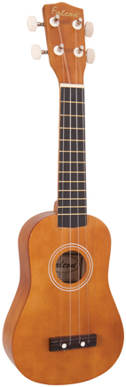 Falcon Soprano Ukulele - NATURAL