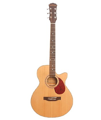 Freshman Renegade Cutaway Electro-Acoustic in Natural, Sunburst & Blue