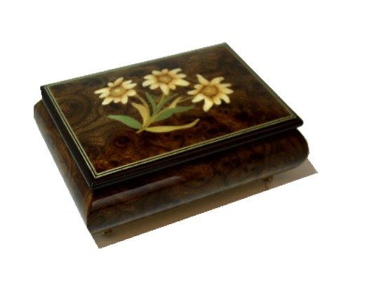 Inlaid Musical Jewellery Box MJB46/7EDC