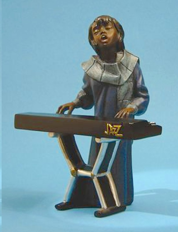 Jazz Band Figures And Jazz Band Figurines, Great Music Gifts From Shop 4 Music Boxes