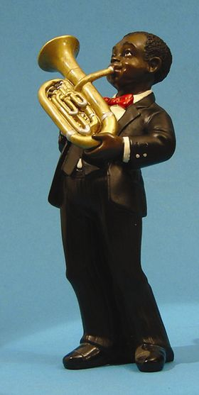 Jazz Band Figurine Baritone 3168