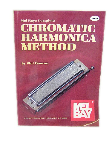 Mel Bay's Complete Chromatic Harmonica Method Book 103544A