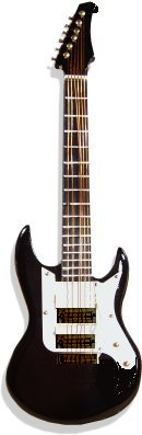 Miniature Electric Guitar Mi8