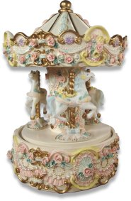 Mozart Music Box Carousel 14058