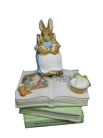 Beatrix Potter Music Box,The Tale Of Benjamin Bunny.