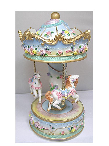 Musical Carousel & Music Box Carousels From Shop 4 Music Boxes & The Music Box Shop