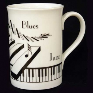 Musical Theme Bone China Mug BCM06