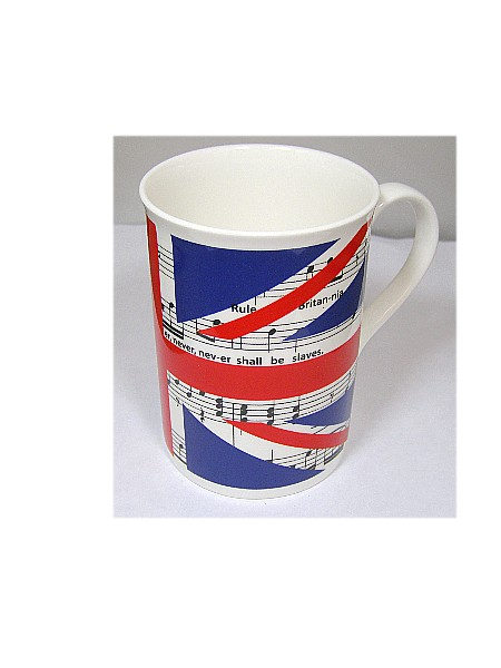 Musical Theme, Rule Britannia Bone China Mug BCM20